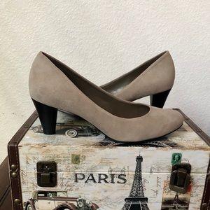 Antonio Melani Grey Suede Pumps Size 6.5
